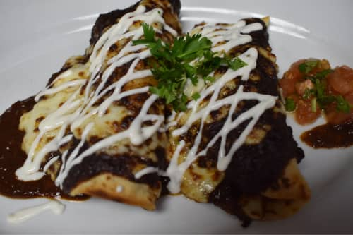 POLLO ENCHILADAS