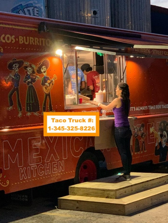 Casa 43 Mexican Street Kitchen @casa43tacotruck PHONE NUMBER - +1-345-3258226 (TACO)